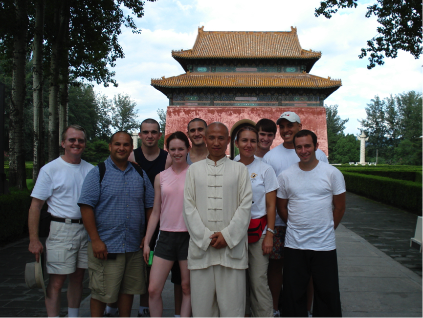 A Group of Americans Traveling to China